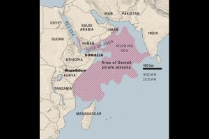 Somalia Pirate Attack Map