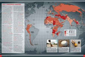 UXO Landmines Map